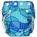 FuzziBunz Elite One Size Pocket - Whale