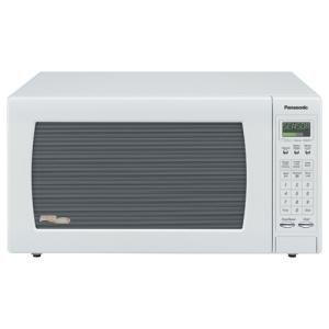 Panasonic, 1.6Cf Microwave- White (Catalog Category: Kitchen & Housewares / Microwave Ovens)