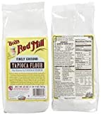 Bob's Red Mill Flour, Tapioca, Gluten-Free 565 g (Pack of 4)