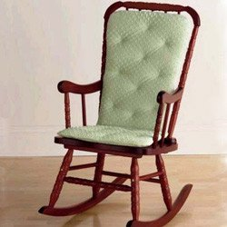 Best Price aBaby Heavenly Soft Adult Rocking Chair Cushion, Sage