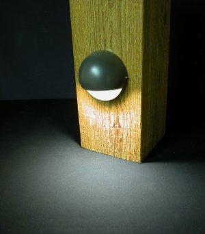 Nebula Eyeball Rail Led Light - Bronze