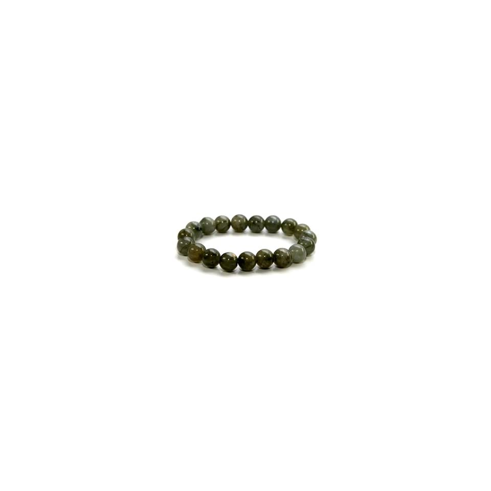 Round Cut Labradorite Crystal Bracelet