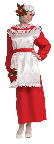 Rubie's Costume Women's Mrs. Poinsettia Claus Dress
