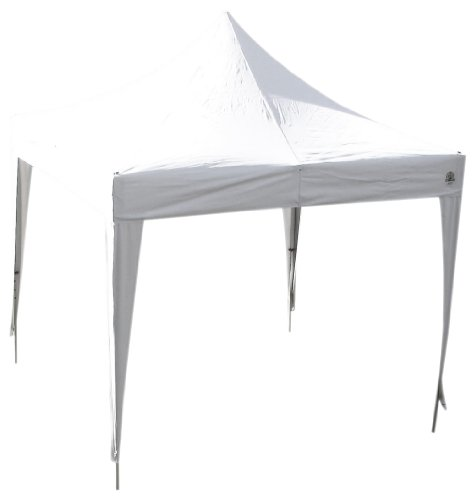 Undercover Canopy Professional Grade Aluminum Shelter – 100 Sq.ft of Shade (10 x 10-Feet, White), Outdoor Stuffs