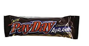HERSHEY CHOCOLATE 10700-80822 PAYDAY CHOCOLATE AVALANCHE CANDY BAR (PACK OF 24)