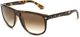 Ray-Ban Rb4147 Flat Top Boyfriend Sunglasses , Non-Polarized, Tortoise/Brown Gradient