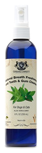 Natural Breath Freshener and Teeth and Gum Cleaner for Dogs and Cats, Pet Oral Care Spray - 8 FL OZ (236 mL)