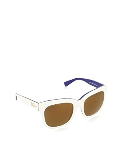 Dolce & Gabbana Gafas de Sol DG4272 3005F9 (53 mm) Blanco