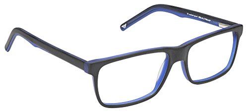Vincent Chase VC 6467 Matte Black Blue C2 Eyeglasses(103812)
