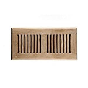 Amazon Com Welland Hardwood Vent Floor Register Self
