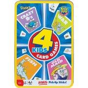 POOF-Slinky Classic 4 Kids Card Games Set