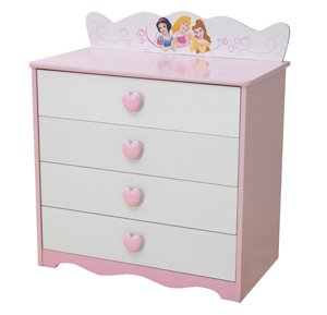 disney princesse grow with me commode 4 tiroirs. Black Bedroom Furniture Sets. Home Design Ideas