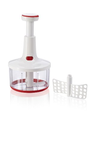 Leifheit 23041 Comfortline Twist Cut Hand Food Processor