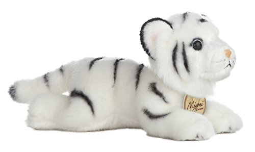 "Miyoni White Tiger 8"" by Aurora by Aurora World"
