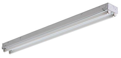Lithonia Lighting C232 Mv 4-Feet 32W T8 Fluorescent Contractor Select General Purpose Strip Light, White