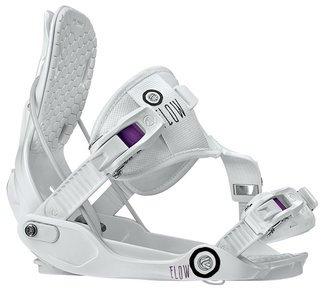 Flow Gem SE Snowboard Binding – Women's White Medium