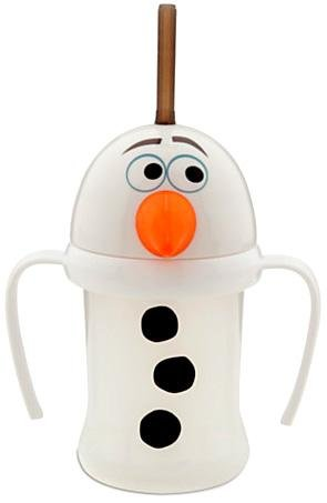 Disney Frozen Exclusive Olaf Cup with Straw - 1