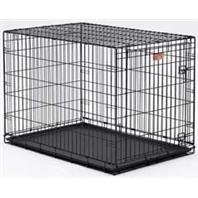I-Crate, Color: Black; Size: 36 Inch/ Single (Catalog Category: Dog:Crates) front-40909