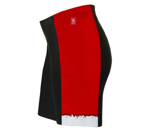 Santa Suit Cycling Shorts for Women