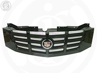 2007 2012 Cadillac Escalade Esv And Ext Black Grille By Gm