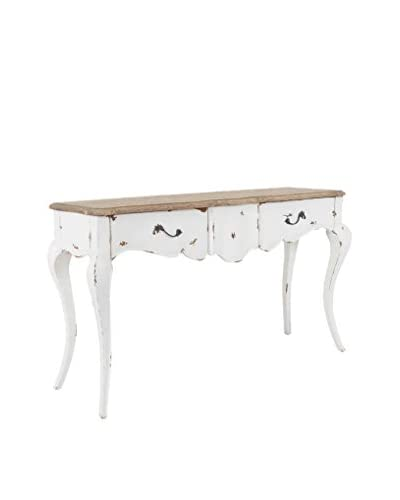 Jeffan Fiji 2-Drawer Console Table, Natural