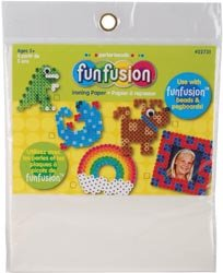 Perler Beads Fuse Bead Ironing Paper 6 Sheets/Pkg 22731; 6 Items/Order