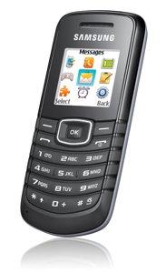 Samsung GT E1080 - Téléphone cellulaire - GSM - noir
