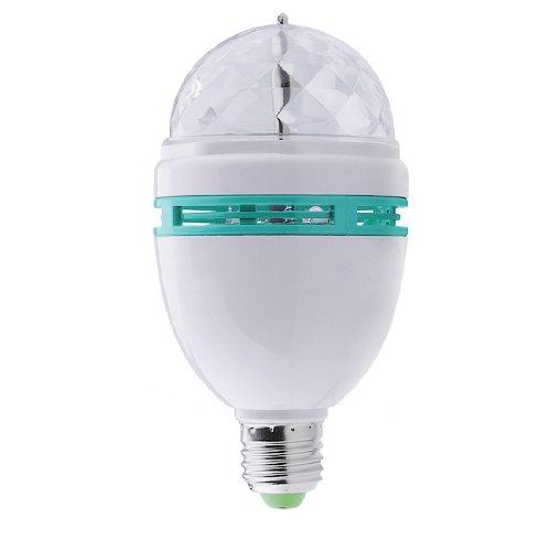 Magic Lighting E27 3W Rgb Colour Changing Led Spotlight Bulb
