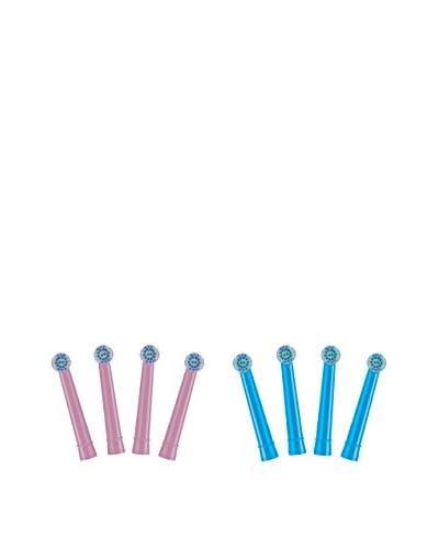 PRODENTAL Set Cabezal Repuesto Cepillo Dental 8 Uds. Kids Technology Girl and Boy Pack (Logan & Cris...