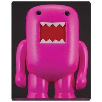 "4"" Domo Vinyl Figure: Black Light Pink - 1"