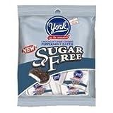 York sugar free peppermint pattie, chocolate candy - 3 oz/pack, 12 ea