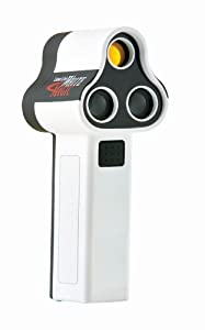 Laser Link Golf White Magic Laser Rangefinder, White Black by Laser Link Golf