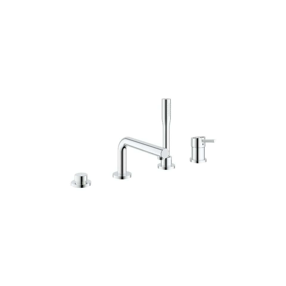 Concetto Roman Tub Filler With Personal Hand Shower
