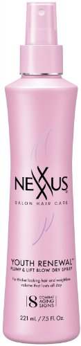 Nexxus Youth Renewal Plump And Lift Blow Dry Spray, 7.5 Ounce