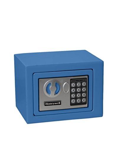 Honeywell 0.17 Cu. Ft. Small Steel Security Safe, Blue