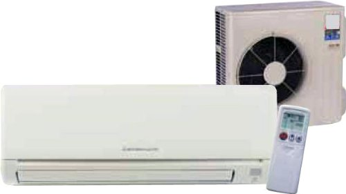 30,700 BTU Mitsubishi 16 SEER R-410A Ductless Air Conditioner Mini-Split System