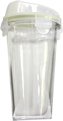 Kinetic Go Green GlassLock Beverage Shaker from Innova