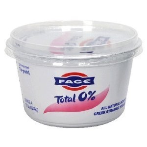 FAGE YOGURT GREEK TOTAL 0% PLAIN 17.6 OZ PACK OF 3 (Fage 0 Greek Yogurt compare prices)