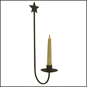 Rustic Star Wall Sconces : Amazon.com: Rustic Star Wall Sconce Country Decor: Home Improvement