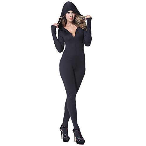 Sexy Ninja Hooded Catsuit I-Glam  31dXN6XaC6L