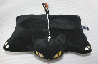 Alice 15 How To Train Your Dragon Toothless Night Fury Plush Cushion Pillow from Alice Co.,ltd