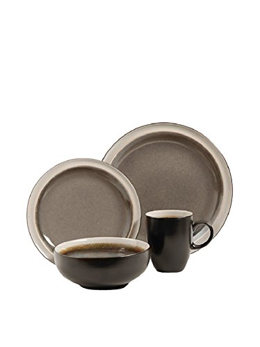 sc 1 st  Anna Linens & Gibson Elite Central Ridge 16-Piece Dinnerware Set Taupe