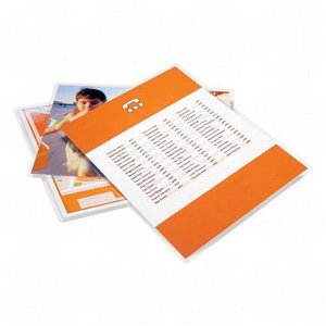 "12"" x 18"" Laminating Pouches 3 mil Large Menu Size 100/box glossy thermal laminator pockets"