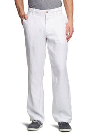 Dockers Herren Hose Normaler Bund 47095, Gr. 29/32, Weiß (White Cap 0001)