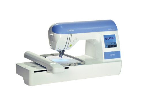 Great Features Of Brother PE770 5 inch x7 inch Embroidery-only machine with built-in memory, USB por...