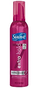 Suave Shaping Mousse, Extra Hold, 9 oz