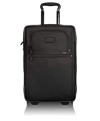 Tumi Alpha 2 International Zippered Expandable Carry-On, Black, One Size