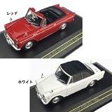First43/ファースト43 トヨタ パブリカ コンバーチブル 1964  1/43スケール  ホワイト・幌付き・F43-018 1044020 【1点】