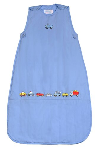 The Dream Bag Baby Sleeping Bag Beep Beep 6-18 Months 1.0 Tog - Blue