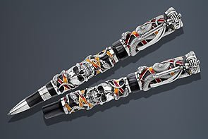 montegrappa-chaos-limited-edition-silver-fountain-pen-medium-point-by-montegrappa
